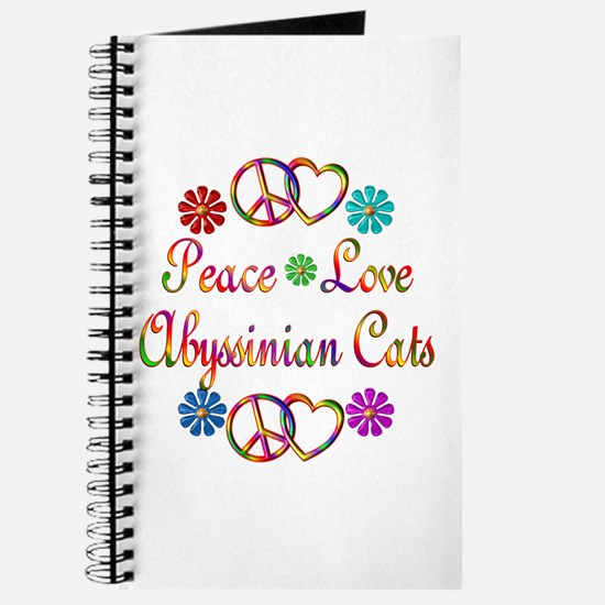 Abyssinian Cats Journal
