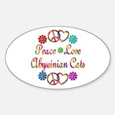 Abyssinian Cats Decal