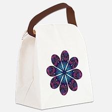 Flower Daydream Canvas Lunch Bag