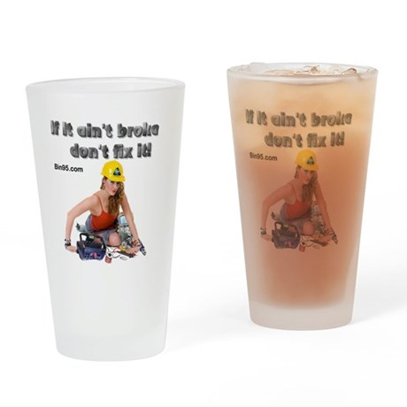 If it ant broke dont fix it! Drinking Glass