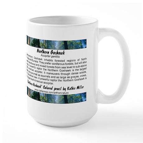 Northern Goshawk Large Mug