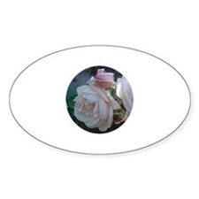 Perfect Roses Oval Decal