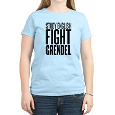 Study and Fight (English) T-Shirt