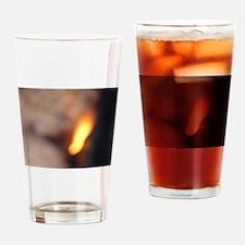 BURN, BABY, BURN III Drinking Glass