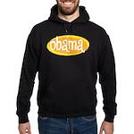 Retro Obama Black Hoodie