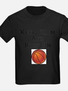 keep calm hoop on T-Shirt