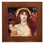 Rossetti Venus Verticordia Framed Tile