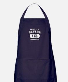 Property of Nevada the Silver State Apron (dark)