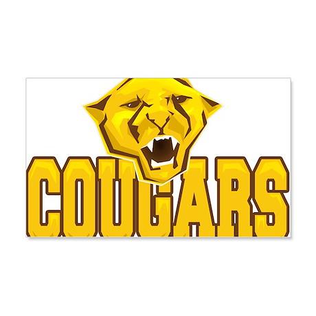 Kenton Ridge Cougars t-shirt design 20x12 Wall Dec