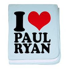 i heart Paul Ryan baby blanket