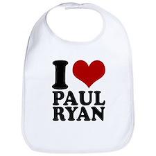 i heart Paul Ryan Bib