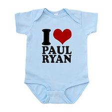 i heart Paul Ryan Infant Bodysuit