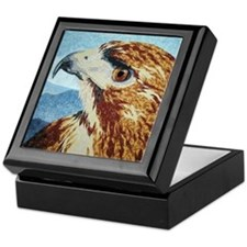 Mya-Red-tail Hawk Keepsake Box