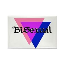 """Medieval """"BiSexual"""" Rectangle Magnet"""