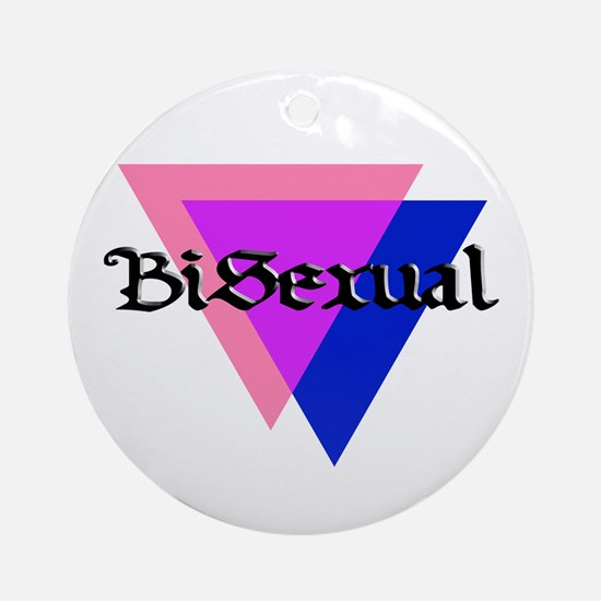 "Medieval ""BiSexual"" Ornament (Round)"