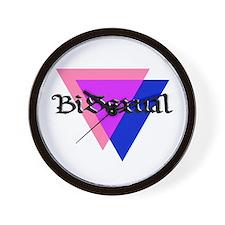 """Medieval """"BiSexual"""" Wall Clock"""