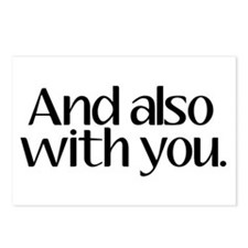 And Also With You Postcards (Package of 8)