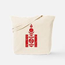 Mongolia Roundel Tote Bag
