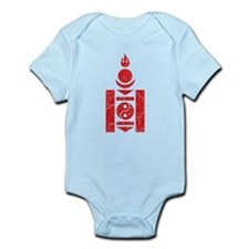 Mongolia Roundel Infant Bodysuit