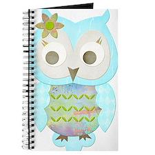 Flower Gypsy Owl Journal