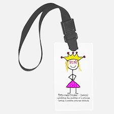 Princessitude! Definition Luggage Tag