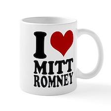 I heart Mitt Romney Mug