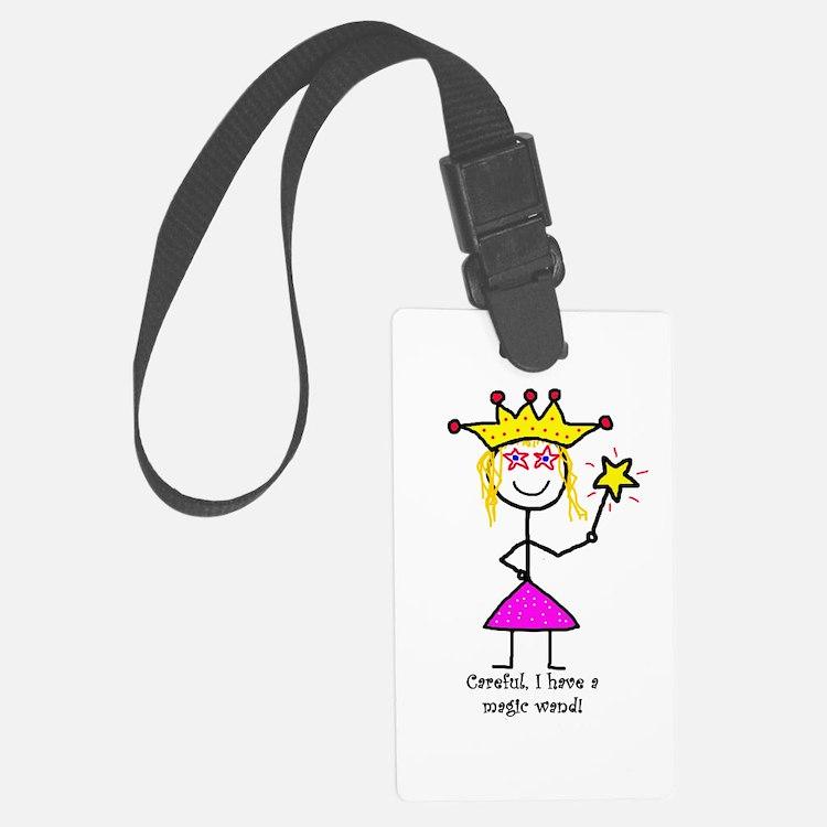 Princessitude! Magic Wand Luggage Tag