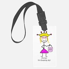 Princessitude! Shopping Day Luggage Tag