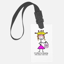 Shopping with daddy's card! Luggage Tag