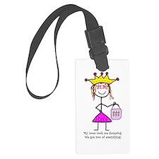 Cute Fairy godmother Luggage Tag
