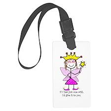 Princessitudewishes3.png Luggage Tag