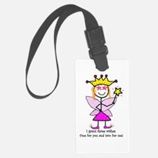 Princessitude! Three Wishes Luggage Tag