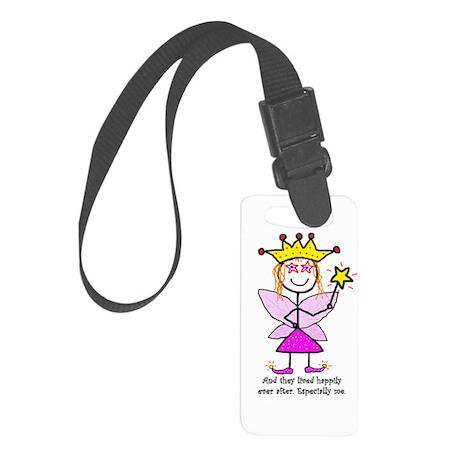 Fairy Princessitude! Me! Small Luggage Tag