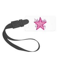 Fairy Sparkle Pink Luggage Tag