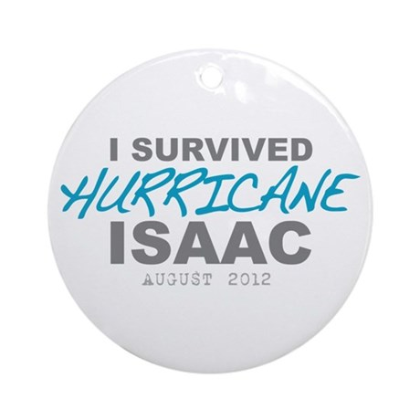 I Survived Hurricane Isaac Ornament (Round)