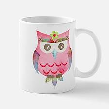 Pink Gypsy Owl Mug