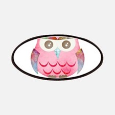 Pink Gypsy Owl Patches