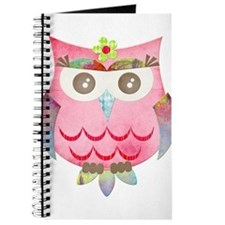 Pink Gypsy Owl Journal