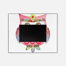 Pink Gypsy Owl Picture Frame