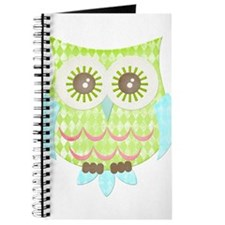 Bright Eyes Owl Journal