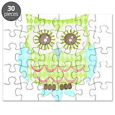 Bright Eyes Owl Puzzle