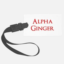 Alpha Ginger Luggage Tag