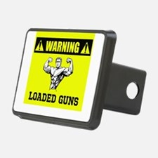 Warning: Loaded Guns Hitch Cover