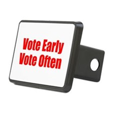 Vote Early, Vote Often Hitch Cover