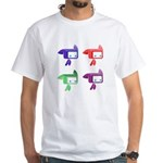 Men's Multicolor Tylted T-Shirt