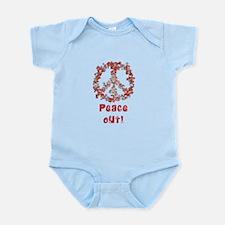 Attraction PeaceOut V Infant Bodysuit