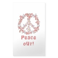 Attraction PeaceOut V Decal
