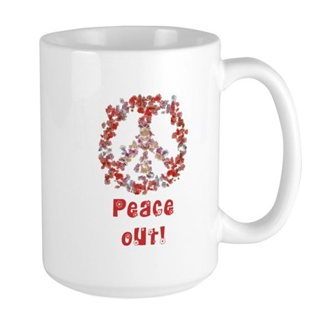Attraction PeaceOut V Large Mug