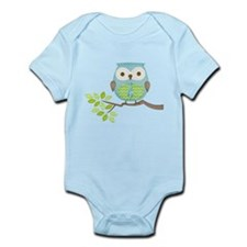 Spotted Executive Owl in Tree Infant Bodysuit