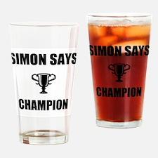 simon says champ Drinking Glass